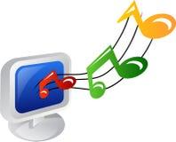 Icona di musica Fotografia Stock