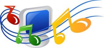 Icona di musica Immagine Stock Libera da Diritti