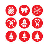 Icona di Natale Fotografia Stock