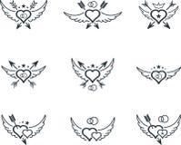 Icona di nozze Immagini Stock