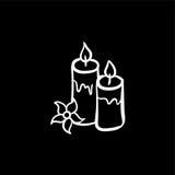 Icona di pietra della stazione termale Fotografia Stock Libera da Diritti