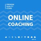 Icona di preparazione online Fotografia Stock