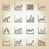 Icona di programma del profilo Fotografia Stock