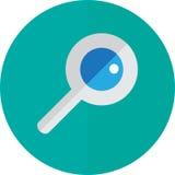 Icona di ricerca Fotografie Stock