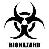 Icona di rischio biologico nella progettazione royalty illustrazione gratis