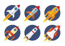 Icona di Rocket Immagini Stock