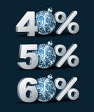 Icona di sconto delle percentuali Immagini Stock Libere da Diritti