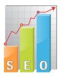 Icona di SEO illustrazione di stock