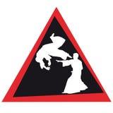 Icona di simbol colorata arte marziale. Vettore. Fotografie Stock