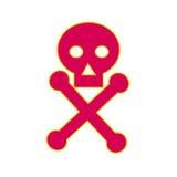 Icona di simbolo del veleno illustrazione vettoriale