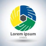 Icona di simbolo di simbolo di unità Immagine Stock