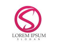 Icona di SLetter Logo Business Template Vector Immagine Stock