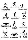 Icona di sport Immagine Stock Libera da Diritti