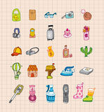 Icona di tiraggio della mano Fotografie Stock