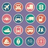Icona di trasporto Fotografie Stock Libere da Diritti