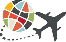 Icona di trasporto dell'aeroplano royalty illustrazione gratis