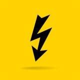 Icona di tuono di Bolt illustrazione vettoriale