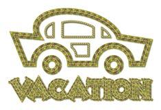 Icona di vacanza illustrazione vettoriale
