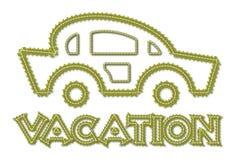 Icona di vacanza Fotografie Stock