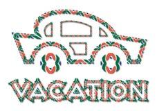 Icona di vacanza illustrazione di stock