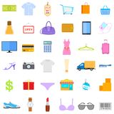 Icona di vendita e di modo Fotografia Stock