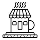 Icona di vettore del caff? illustrazione di stock