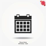Icona di vettore del calendario Immagine Stock Libera da Diritti