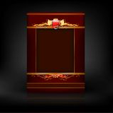 Icona di vettore del menu di Abstarct fotografia stock libera da diritti