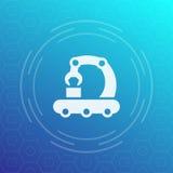 Icona di vettore del trasportatore nello stile lineare illustrazione vettoriale