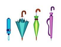 Icona di vettore dell'ombrello Immagini Stock Libere da Diritti