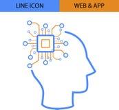 Icona di vettore di idea di App di web royalty illustrazione gratis