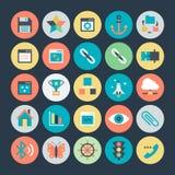 Icona 2 di vettore di sviluppo e di progettazione Fotografie Stock Libere da Diritti