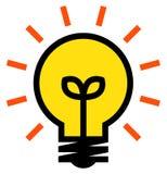 Icona di vettore di idea illustrazione vettoriale