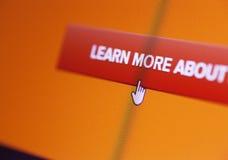 Icona di web Fotografia Stock