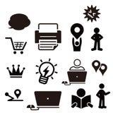 Icona di web di diversità Fotografia Stock Libera da Diritti