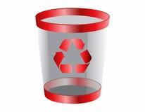 Icona di Web di rifiuti Fotografie Stock Libere da Diritti