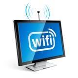 Icona di Wifi Fotografia Stock Libera da Diritti