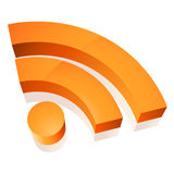 Icona di Wifi Immagini Stock