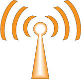 Icona di WiFi Fotografia Stock