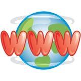 Icona di WWW Fotografie Stock