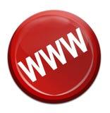 Icona di WWW Fotografia Stock Libera da Diritti