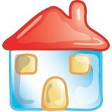 Icona domestica Fotografia Stock