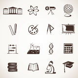 Icona educativa Immagini Stock