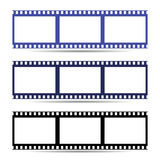 Icona facile del nastro della struttura di film Illustrazione Fotografia Stock
