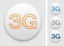 icona 3G Immagini Stock Libere da Diritti