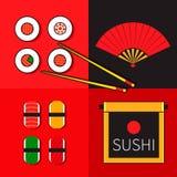 Icona giapponese Fotografia Stock