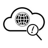 Icona globale di ricerca Immagini Stock Libere da Diritti