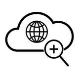 Icona globale di ricerca Immagine Stock Libera da Diritti