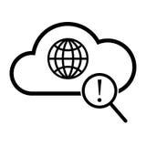 Icona globale di ricerca Fotografia Stock Libera da Diritti