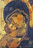 Icona greca fotografie stock libere da diritti